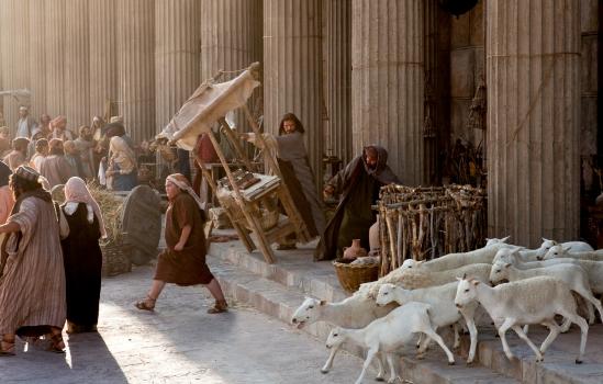 Gesù entra nel Tempio
